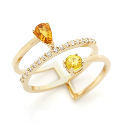 Fire Diamond Ring