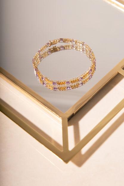 Joy Amethyst Bracelet