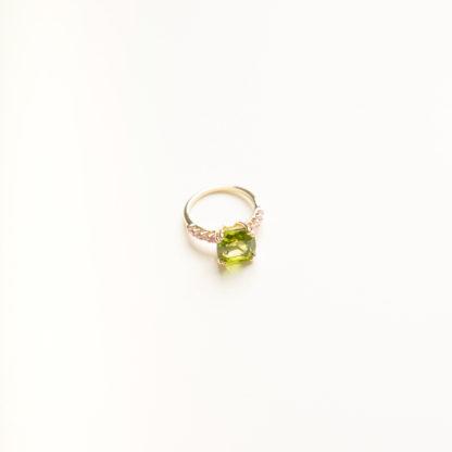 Candy Peridot Ring