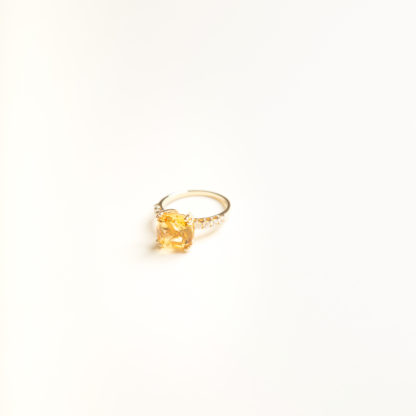 Candy Citrine Ring