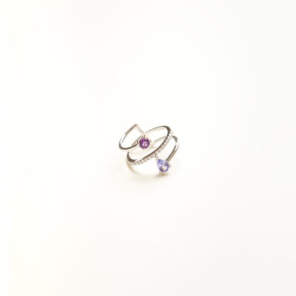 Fire Tanzanite Ring