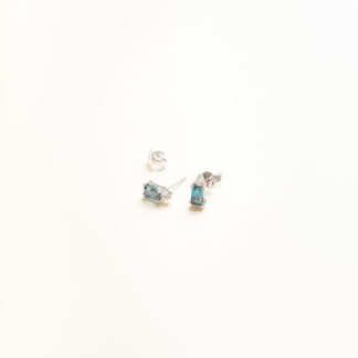 Joy Aquamarine Studs