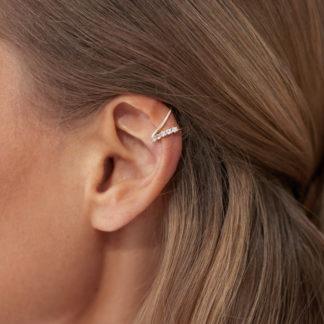 sapphire ear cuff, safiiri ear cuff