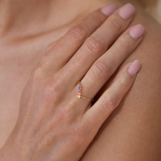 by vilma rainbow ring