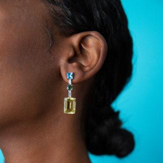Fiji earrings, fiji korvakorut